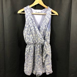 Everly Periwinkle Romper